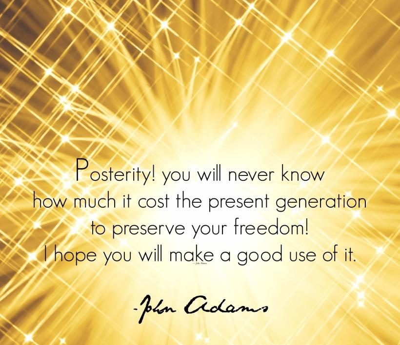 Posterity quote